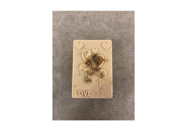 Медовое мыло с пчелиным подмором